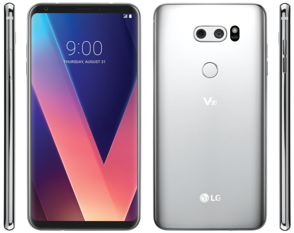 LG V30 Official Press Render