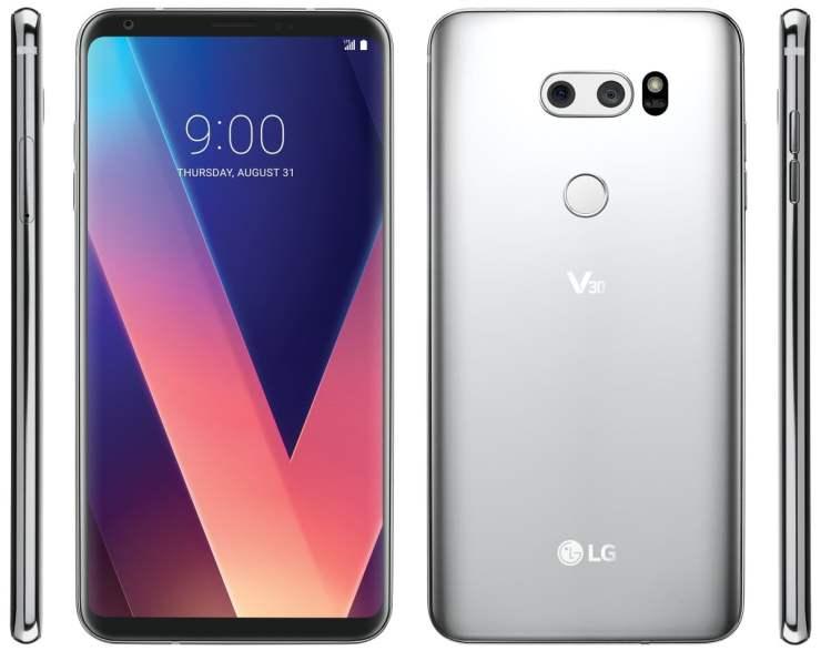 LG V30 Official Press Render