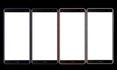 Nokia 9 Renders from front leaked in various colors, 16:9 Display Confirmed 5