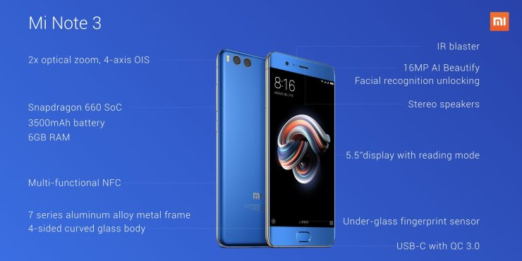 Xiaomi Mi Mix 2 & Mi Note 3 Launched - Here's all you need to know 5