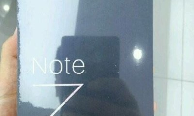 Xiaomi Mi Note 3 packaging