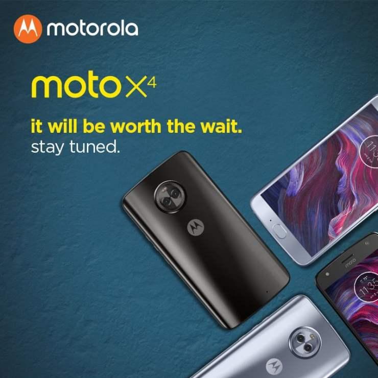 Moto X4 Launch Delayed