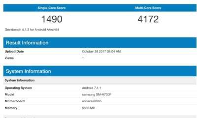 Galaxy A7 2018 Exynos 7885