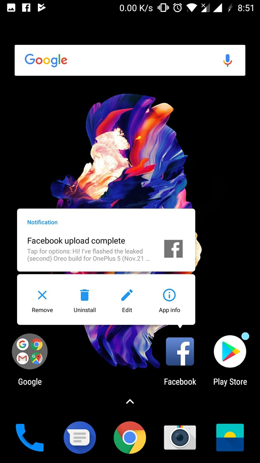 OnePlus 5 gets Face Unlock feature via Android 8.0 Beta 2 Update 8