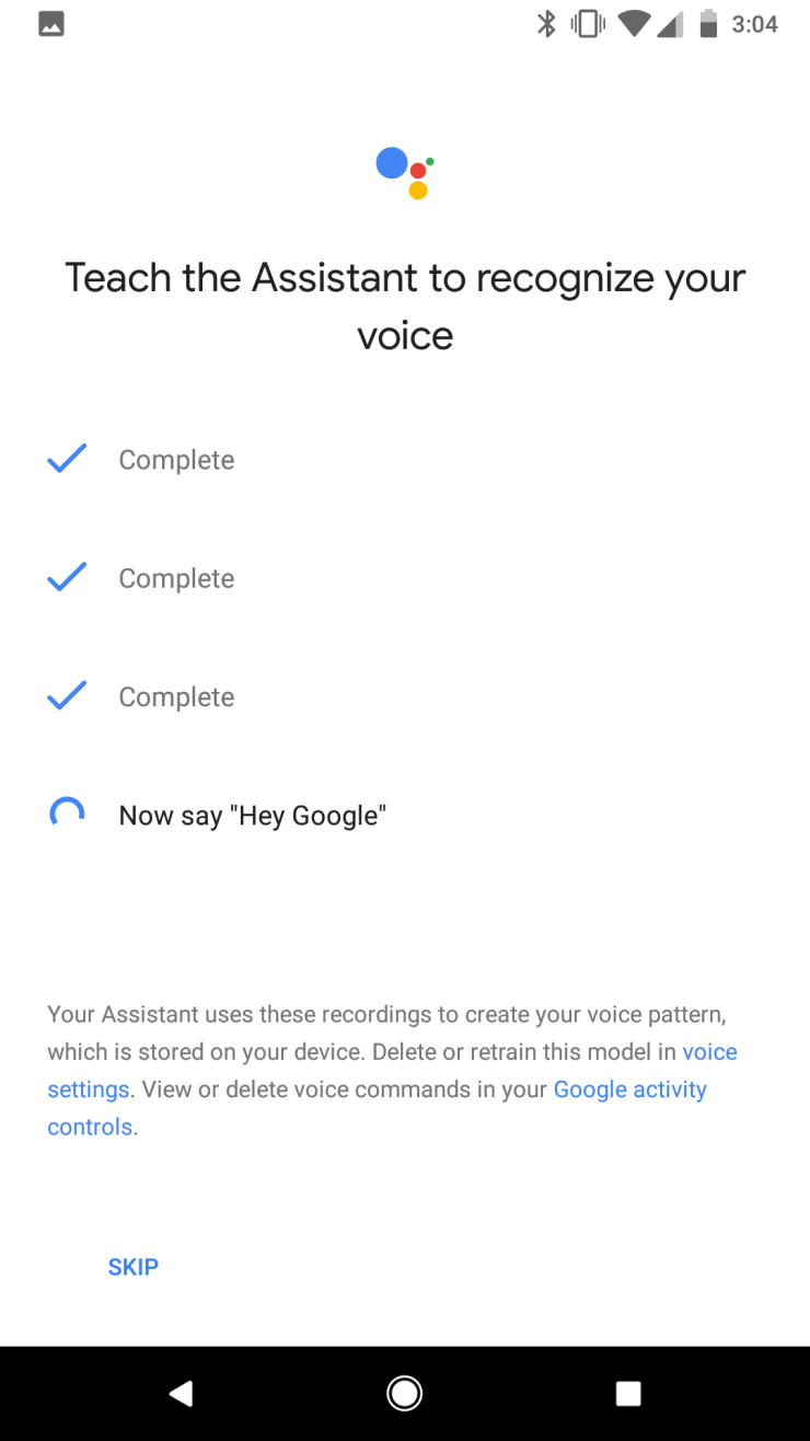 Google Assistant Hey Google