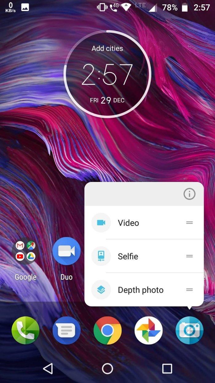 Moto X4 Android Oreo Update