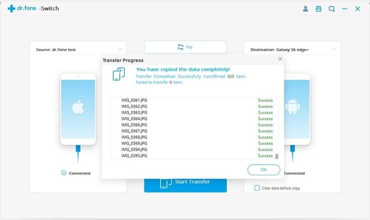 Wondershare Dr.Fone Review - Backup & Transfer Data On The Go 4