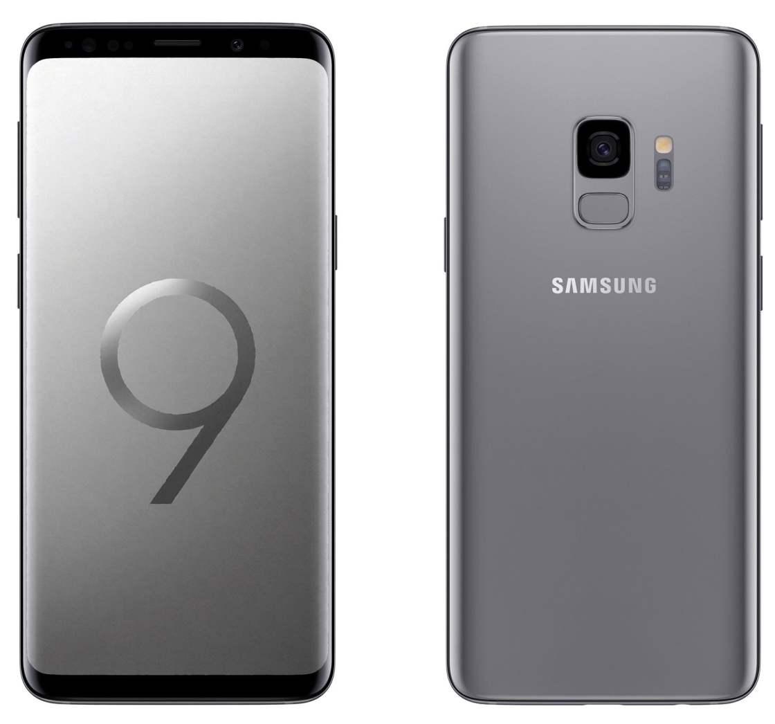 Titanium Gray Galaxy S9