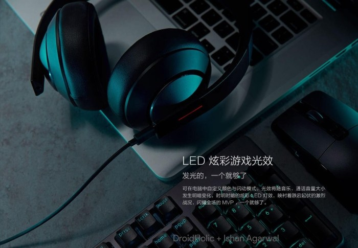 Xiaomi Gaming headset will go on sale on April 27 for ¥349 ($55) 15