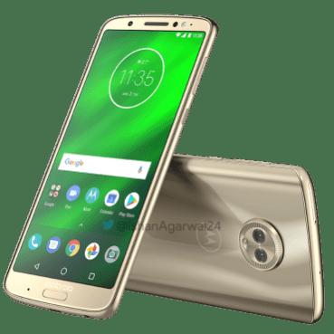 Moto G6 Plus Gold