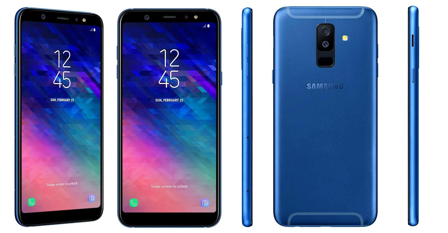 Samsung Galaxy A6 & Galaxy A6 Plus - Design, Specifications & Pricing 9