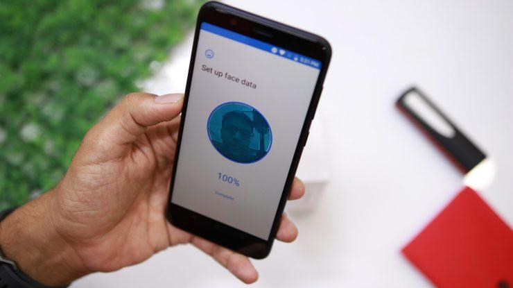 Asus Zenfone Max Pro M1 Face Unlock