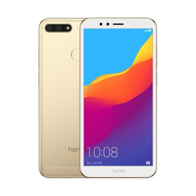 Honor 7A in Gold