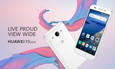 Huawei Y3 2018 launched as company's first Android Go device 24