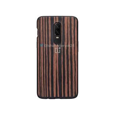 OnePlus 6 Ebony Wood Case