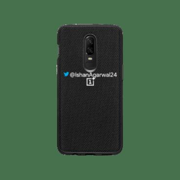 OnePlus 6 Nylon Black Case