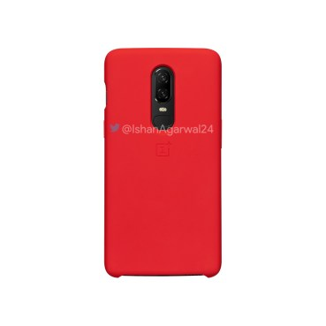 OnePlus 6 Protective Red Case