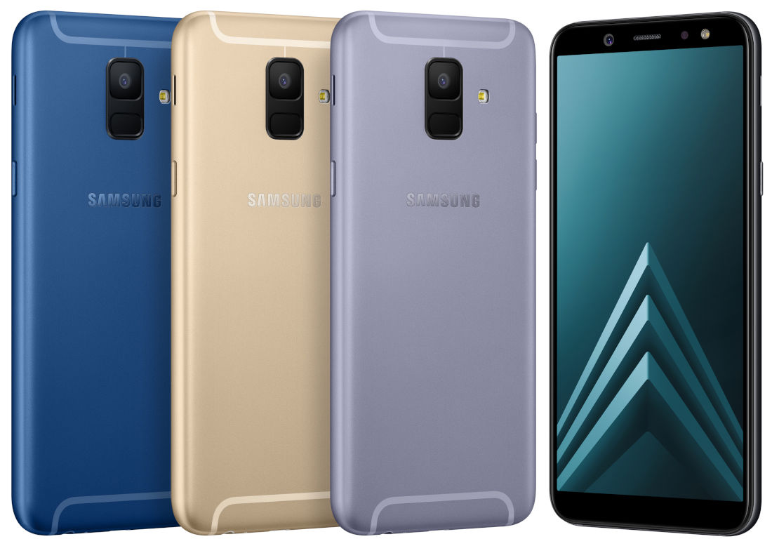 This is the Samsung Galaxy A6