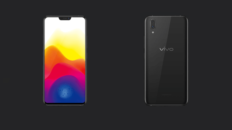 Vivo X21 from the front & rear
