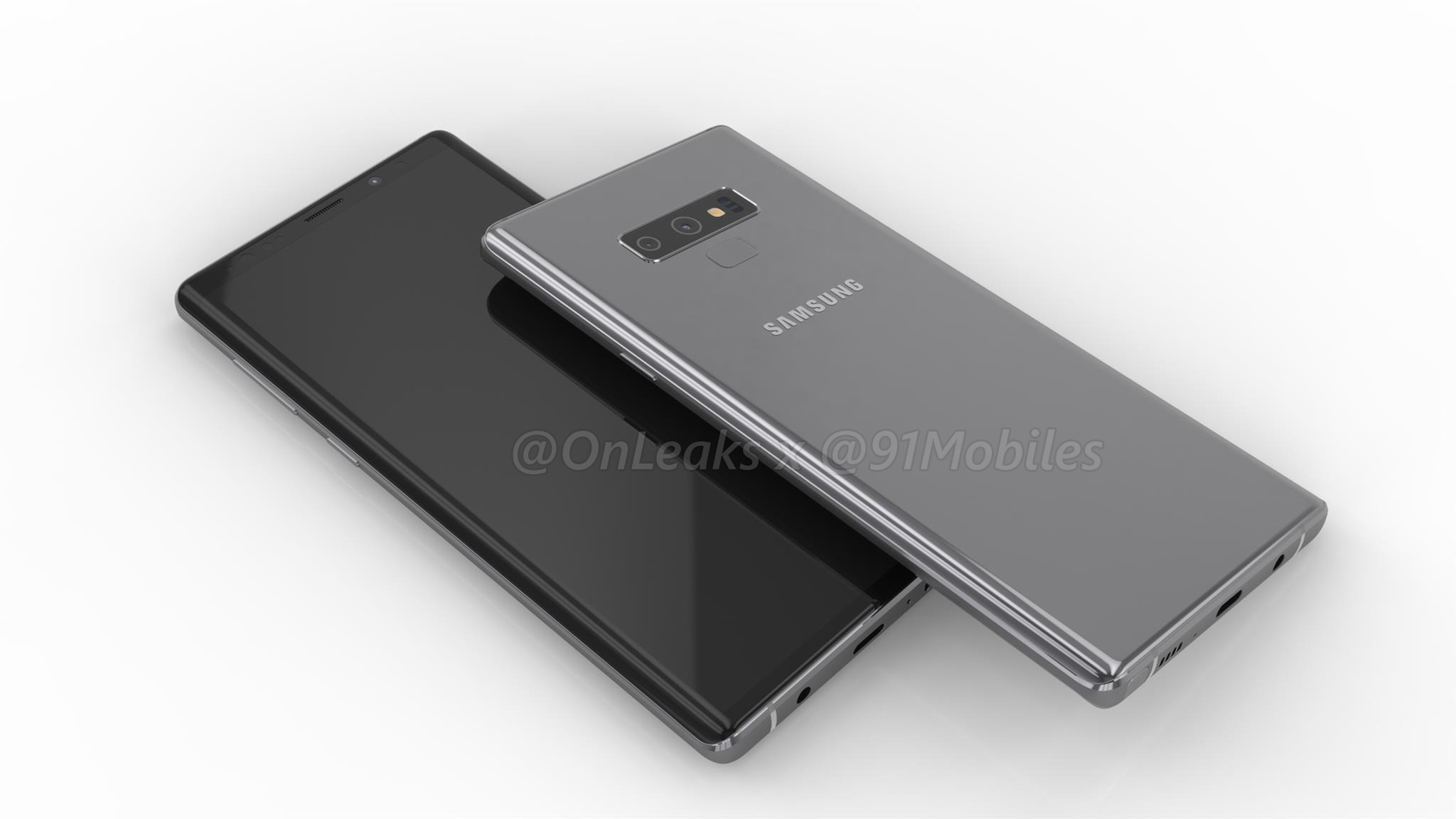 This is how the Samsung Galaxy Note 9 is going to look like 1