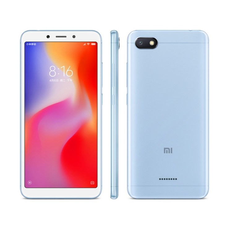 Xiaomi Redmi 6A in Blue