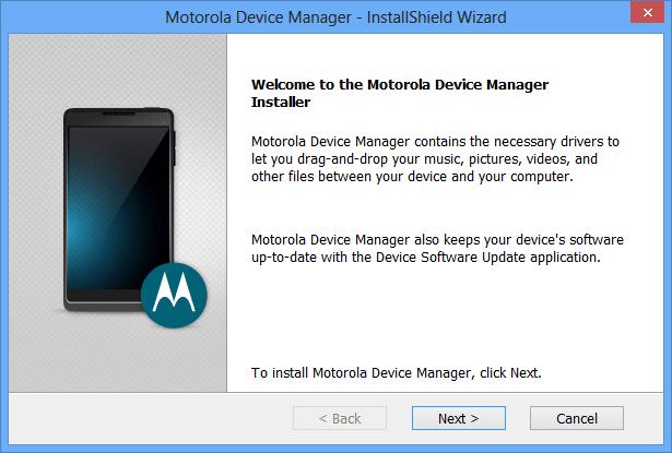 Download Motorola Device Manager
