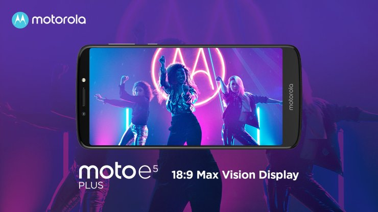 Motorola Moto E5 Plus with Snapdragon 430 launched in India for Rs 11,999 2