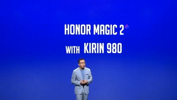 Honor Magic 2 is coming with Kirin 980