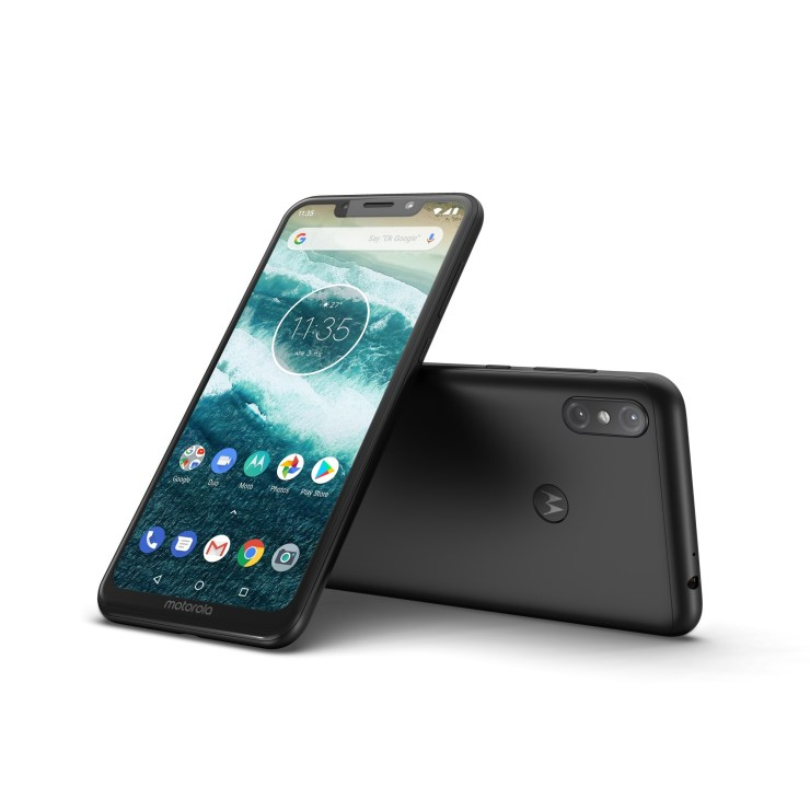 This is the Motorola One Power