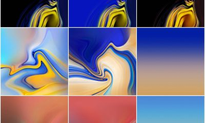Download Samsung Galaxy Note 9 stock wallpapers - ZIP file included 3