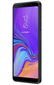 Galaxy A7 2018 render Black 3