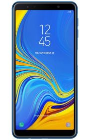 Galaxy A7 2018 render Blue 1