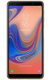 Galaxy A7 2018 render Gold 3
