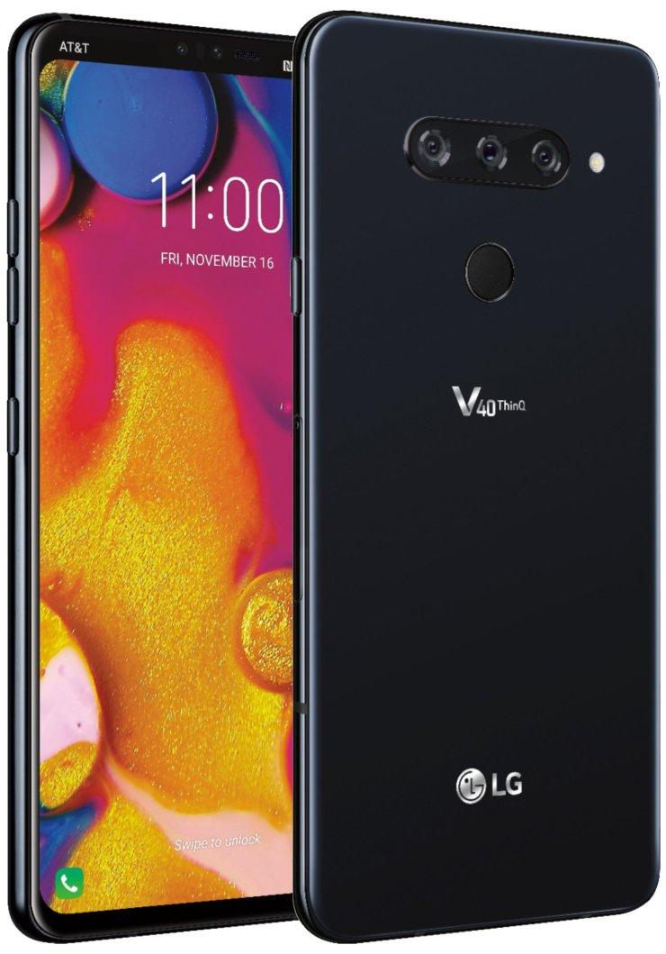 LG V40 ThinQ Press Render