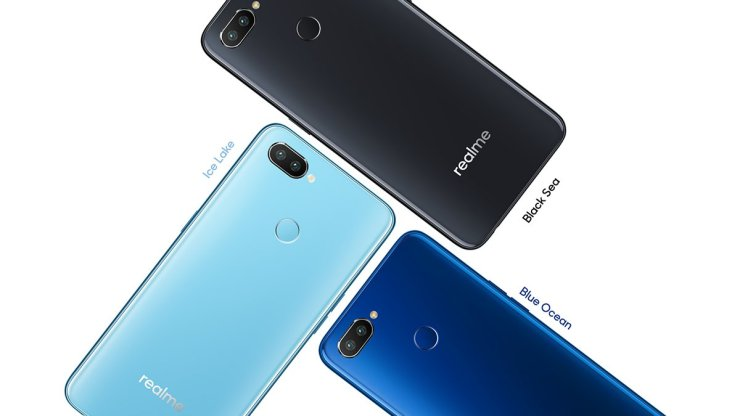 Realme 2 Pro color Options