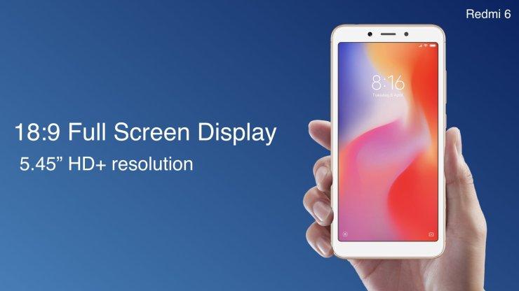 Xiaomi Redmi 6, Redmi 6A and Redmi 6 Pro launched in India 5