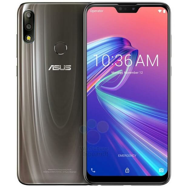Asus Zenfone Max Pro M2 press renders leaked in Gold and Blue 8