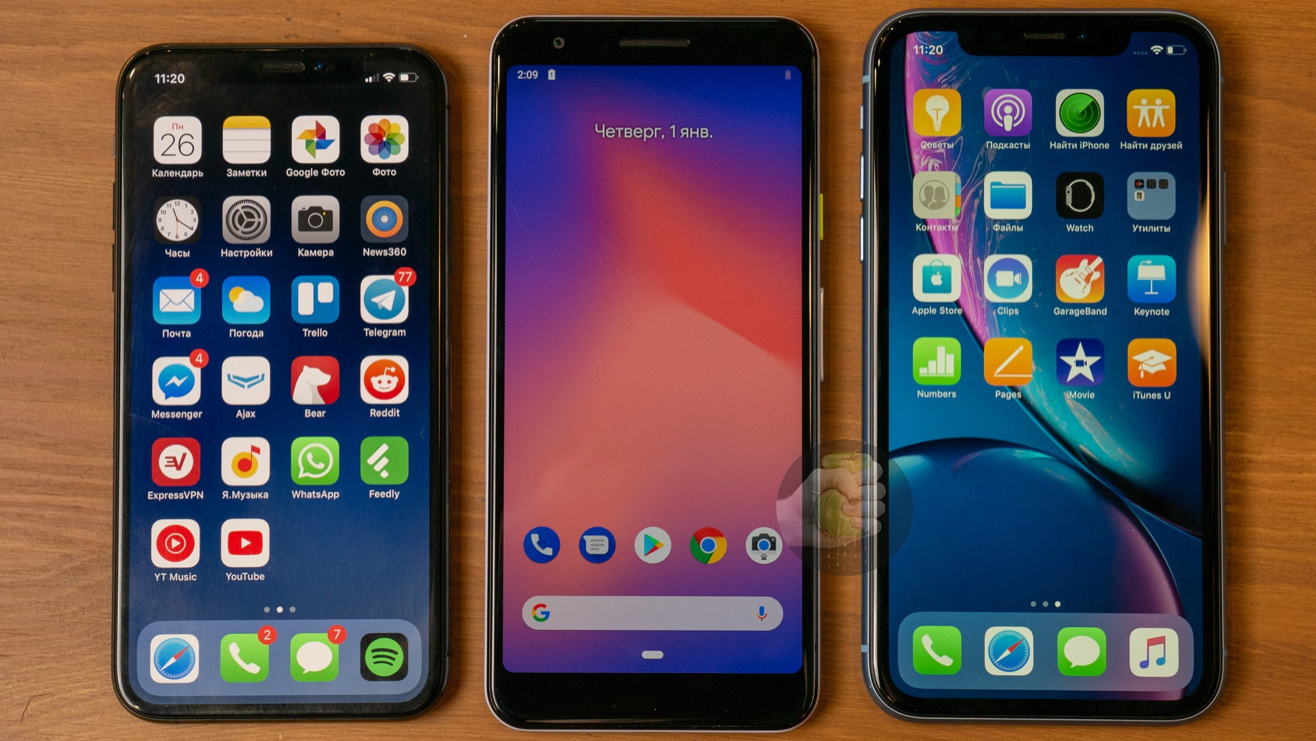 Here's how Google Pixel 3 Lite compares to other phones in terms of size 6