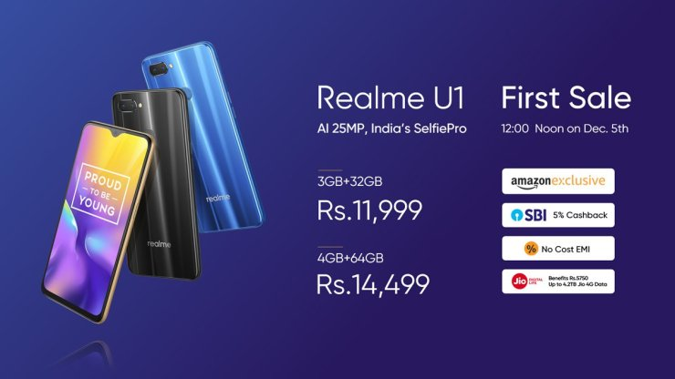 Realme U1 launched in India with Helio P70 & 25MP front camera 9