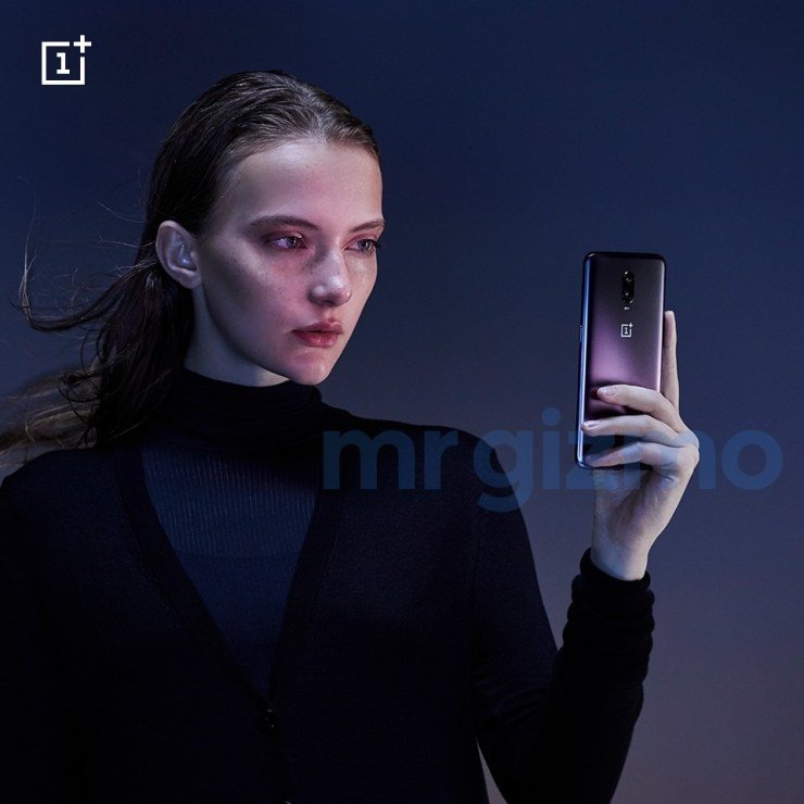 This is how the OnePlus 6T in Thunder Purple looks like 3