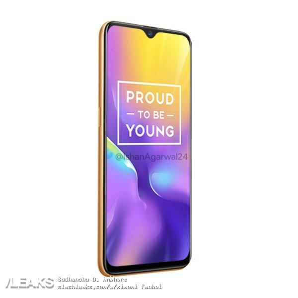 Realme U1 press renders & pricing leaked, will start at Rs 11,999 6
