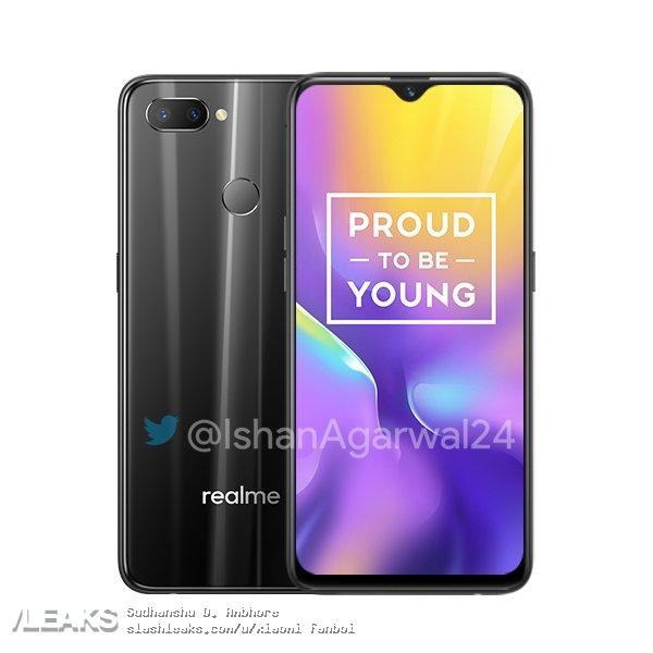 Realme U1 press renders & pricing leaked, will start at Rs 11,999 1