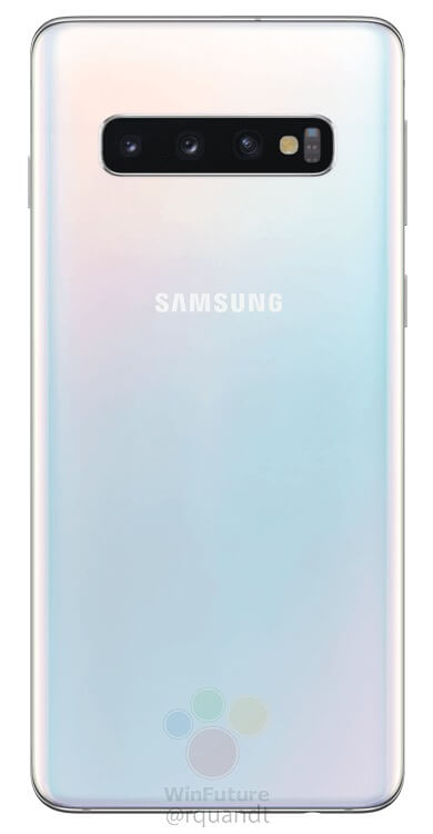 Here are the official press renders of the Samsung Galaxy S10 & S10+ 8