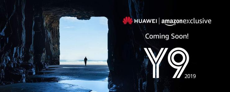 Huawei Y9 2019 coming soon to India, listed on Amazon India 1