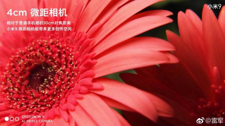 Lei Jun reveals the Xiaomi Mi 9 camera specs on Weibo 5