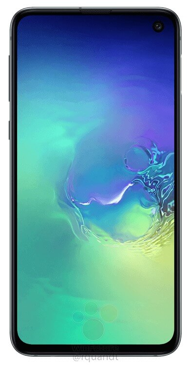 This is the Samsung Galaxy S10E - Samsung's reply to the iPhone XR 1