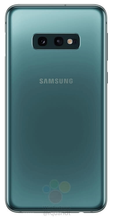This is the Samsung Galaxy S10E - Samsung's reply to the iPhone XR 2