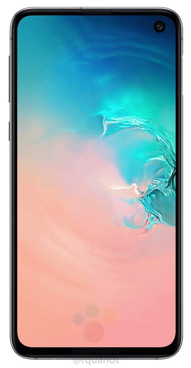 This is the Samsung Galaxy S10E - Samsung's reply to the iPhone XR 10