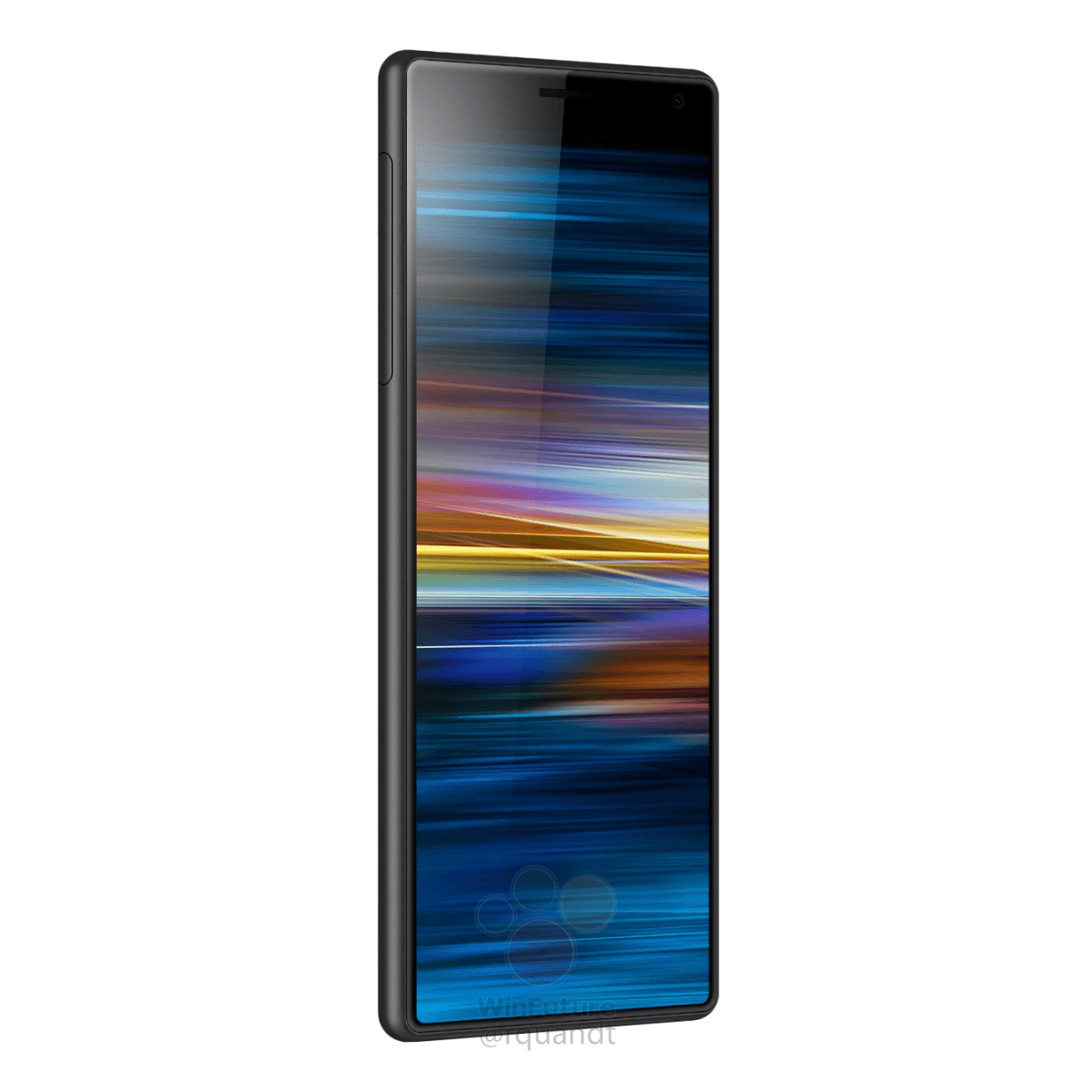Press Renders: This is the Sony Xperia XA3 with that long 21:9 display 1