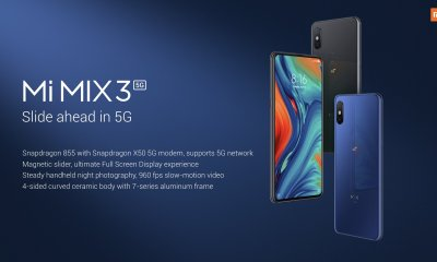 Xiaomi Mi Mix 3 5G launched at MWC with Snapdragon 855 4